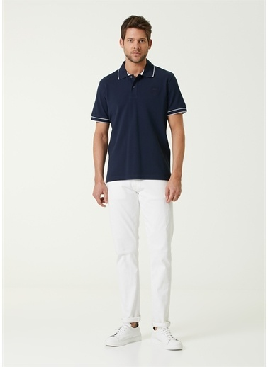 Corneliani Polo Yaka T-shirt Lacivert